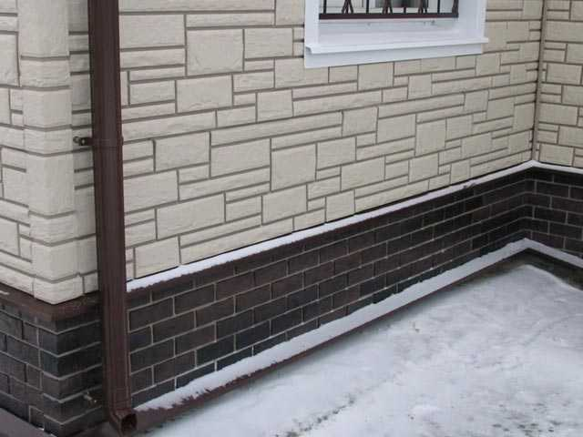 Облицовка фасада пластиковыми панелями